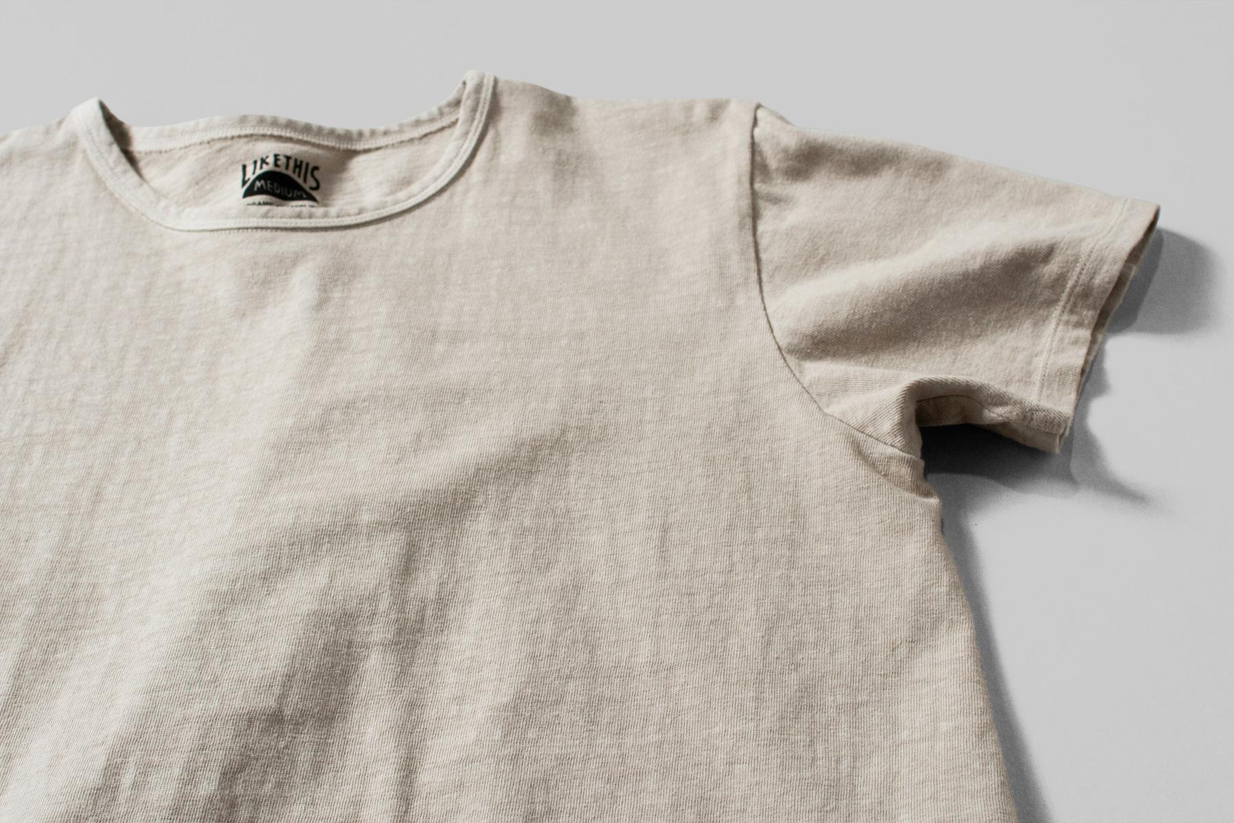 オーガニックコットン ボタニカルダイTシャツ